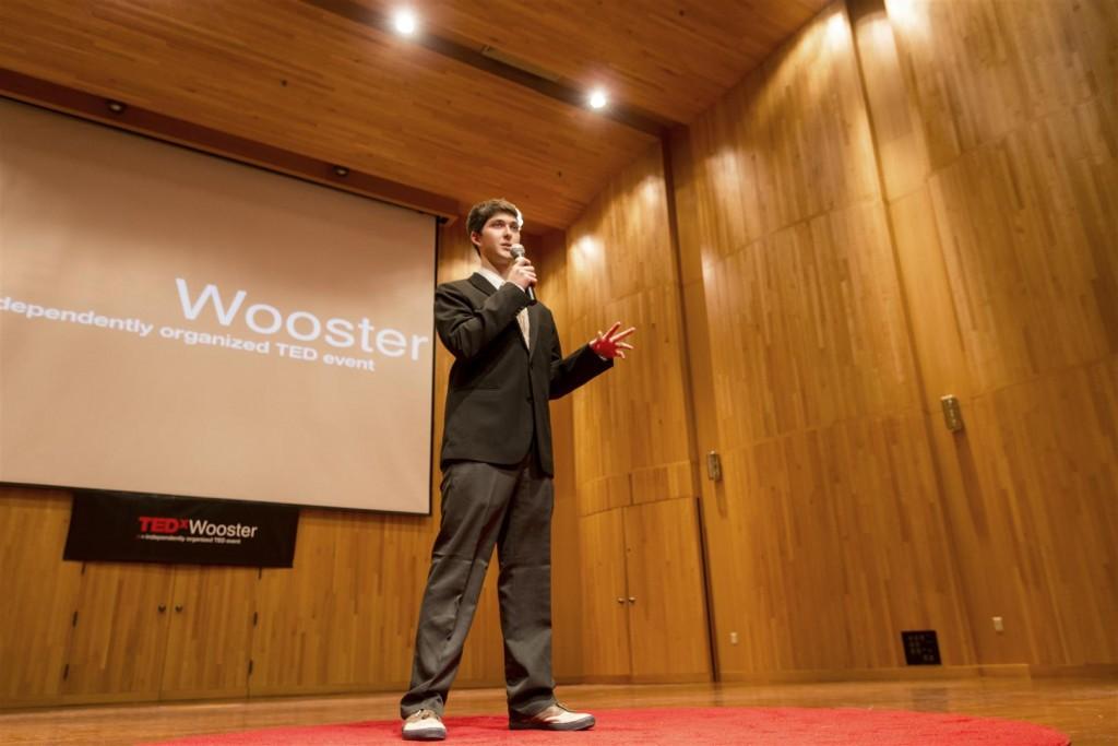 Noah Megregian - student organizer