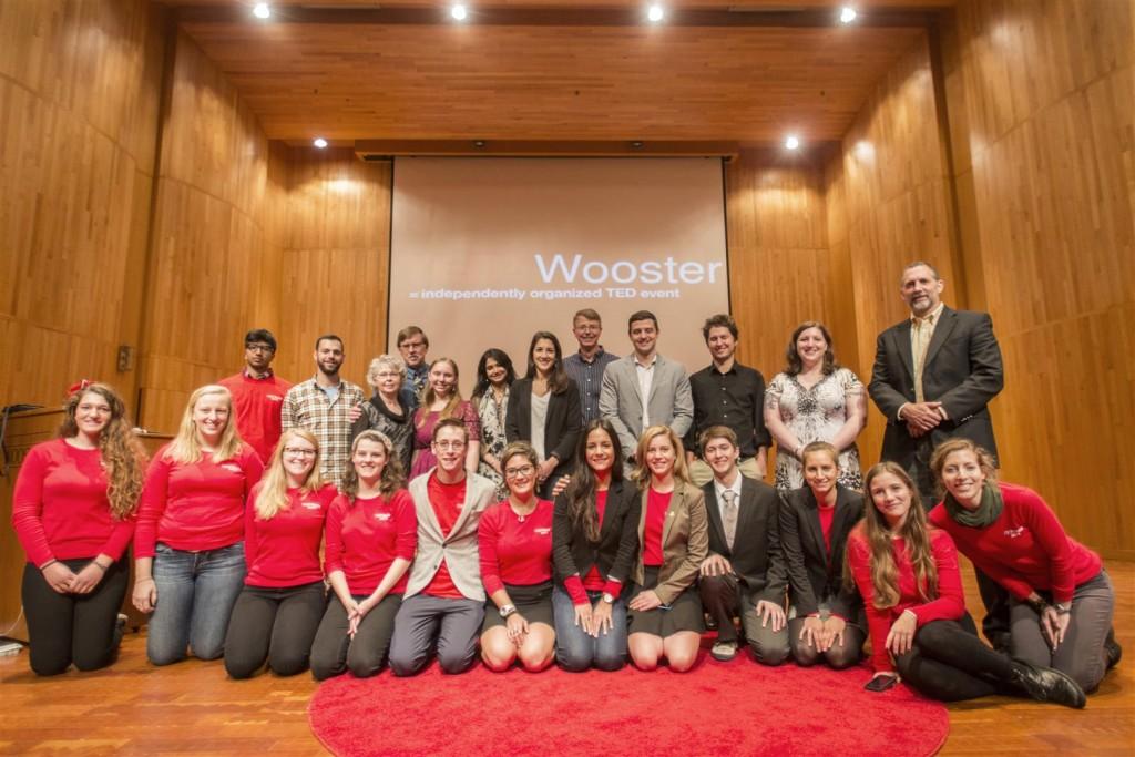 TEDxWooster volunteers and speakers